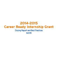 ResourceThumbnail CareerReadyInternshipGrantClosingReport 2014 15